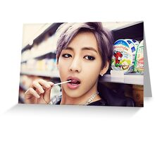 V - War of Hormone Greeting Card