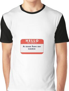 A man is considering to buy... Graphic T-Shirt