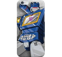 Soundwave Reporting iPhone Case/Skin