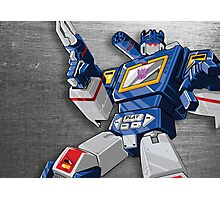Soundwave Reporting Photographic Print