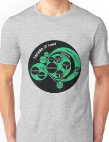 A Phylogeny of Robots: Green-Black Unisex T-Shirt