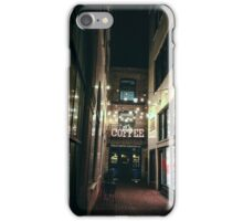 Alley Cafe iPhone Case/Skin