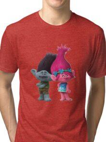 Poppy And Branch Tri-blend T-Shirt