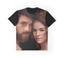 Roger And Brianna Graphic T-Shirt