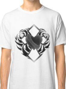 Cross & Heart - 'Love' Classic T-Shirt