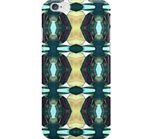Textured Green Abstract Pattern iPhone Case/Skin