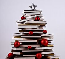 "XMAS BOOK TREE ~ OMG Sold  ""198 "" of these YAY !!! by Nina  Matthews Photography"