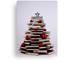"XMAS BOOK TREE ~ OMG Sold  ""193 "" of these YAY !!! Canvas Print"
