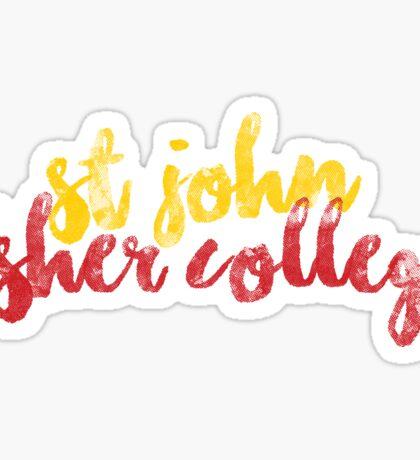 St. John Fisher College Sticker