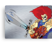 Lion-O's Last Stand Canvas Print