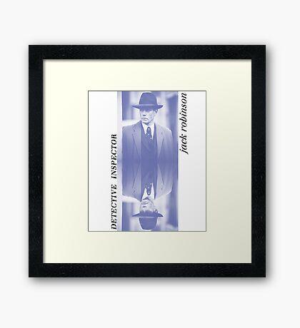 Detective Inspector Jack Robinson Framed Print