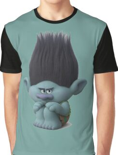 Branch the paranoid disgruntled Troll survivalist Graphic T-Shirt