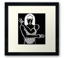 Be Your Own Superhero Framed Print