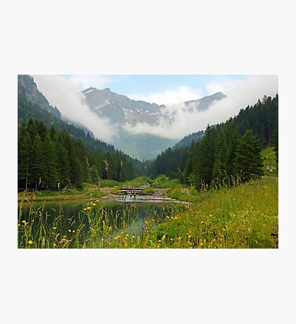 Small lake in the Alps Photographic Print