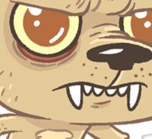 Wolfman Sticker Sticker