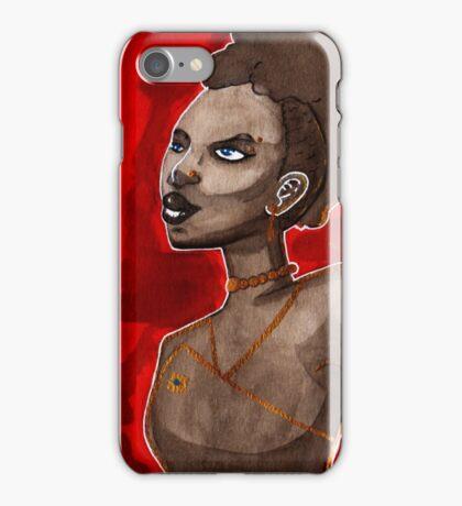 Red Fire iPhone Case/Skin