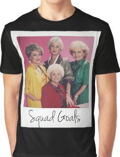 Golden Squad Goals Graphic T-Shirt