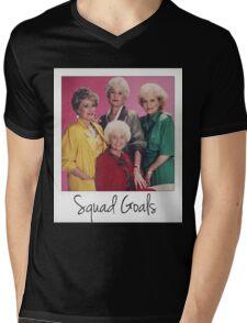 Golden Squad Goals Mens V-Neck T-Shirt