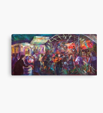 Sydney Blues and Roots Launch - Chris Cain and Blues Exile Canvas Print