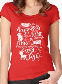Spirit Animals Women's Fitted Scoop T-Shirt
