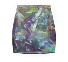 Sydney Blues and Roots - 'Urban Chiefs' -  Mini Skirt