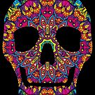 Day of the Dead - Psychedelic Skull 02 by Andrei Verner