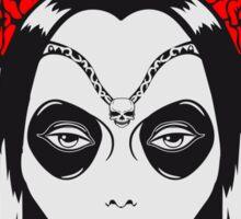 Gothic Girl blut rosen  Sticker