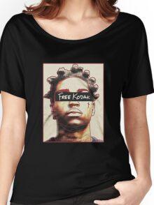 Black Free Koda-k Women's Relaxed Fit T-Shirt