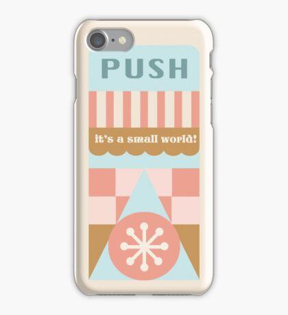 Small World Trash Can Design iPhone Case/Skin