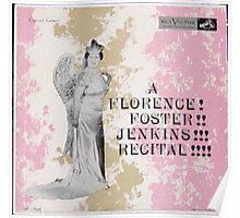 A Florence Foster Jenkins Recital lp Poster