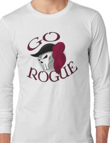 GO ROGUE SKULL Long Sleeve T-Shirt