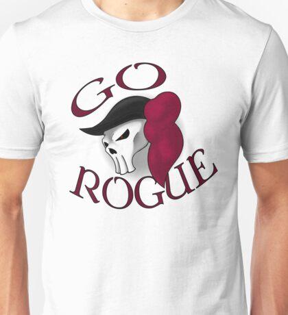 GO ROGUE SKULL Unisex T-Shirt