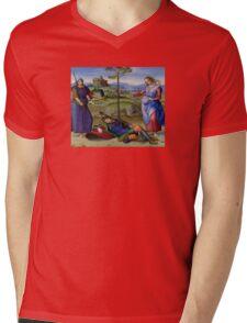 Raphael - Vision of a Knight - Renaissance Painting Duvet, T-Shirt, Cell Phone Cover Mens V-Neck T-Shirt