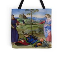 Raphael - Vision of a Knight - Renaissance Painting Duvet, T-Shirt, Cell Phone Cover Tote Bag