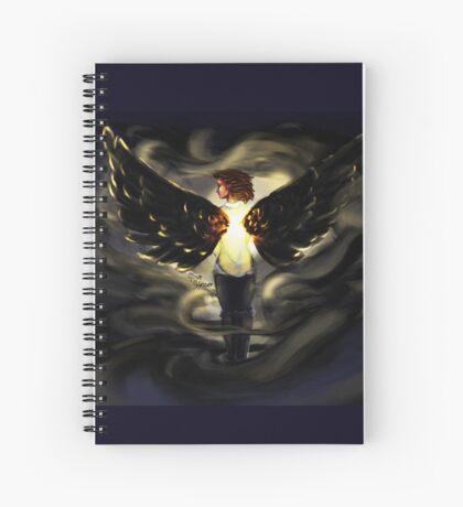 Clara Face the Raven  Spiral Notebook