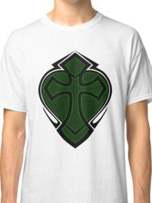 Cross & Heart - Green Classic T-Shirt