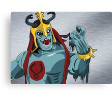 Mumm-Ra Melt Canvas Print