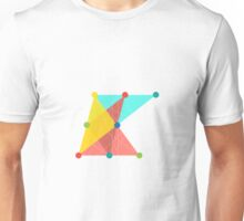 'Symmetrical' Slanted Square Unisex T-Shirt
