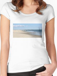 The Jersey Shore 17 Women's Fitted Scoop T-Shirt