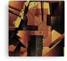 Cardboard Time Machines are Inherently Unstable Canvas Print