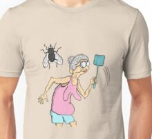 Granny vs Fly Unisex T-Shirt