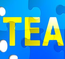 Team and I Jigsaw Puzzle Sticker
