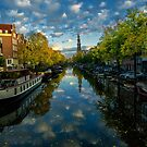Prinsengracht reflections. by naranzaria