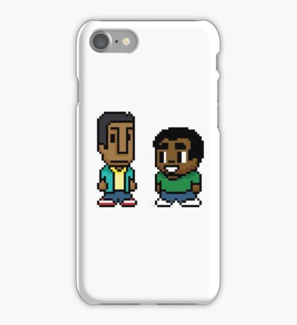 Troy and Abed iPhone Case/Skin