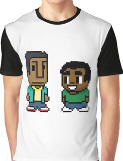 Troy and Abed Graphic T-Shirt
