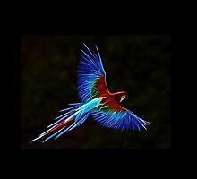 Neon Parrot by artonall