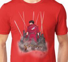 Kaneda in front neo Tokyo Unisex T-Shirt