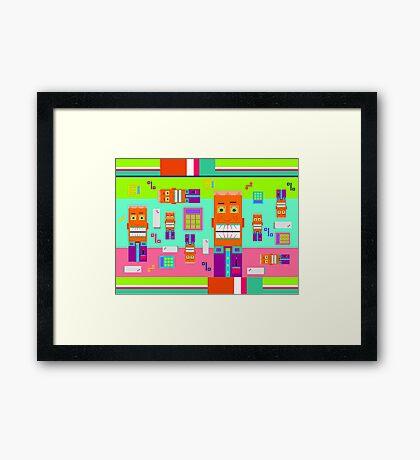 Pointdexter Framed Print
