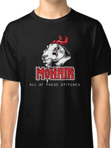 Heavy Metal Knitting - MoHair - All these stitches Classic T-Shirt