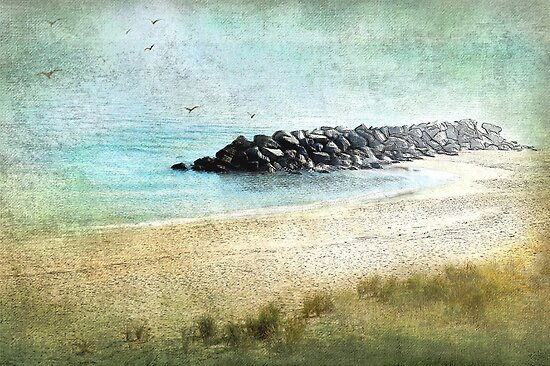 Quietude in Turquoise by Susan Werby